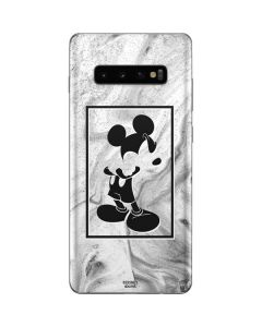 Mickey Mouse Marble Galaxy S10 Plus Skin