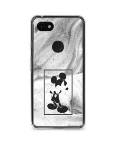 Mickey Mouse Marble Google Pixel 3a Clear Case