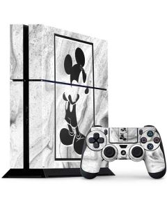 Mickey Mouse Marble PS4 Console and Controller Bundle Skin