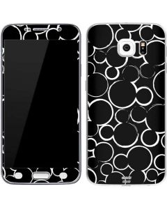 Mickey Mouse Silhouette Galaxy S6 Skin