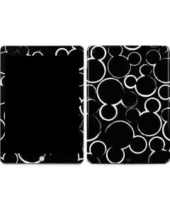 Mickey Mouse Silhouette Apple iPad Skin