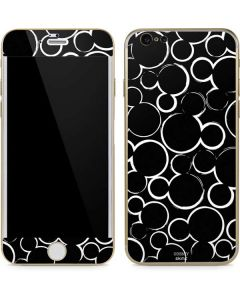 Mickey Mouse Silhouette iPhone 6/6s Skin