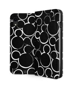 Mickey Mouse Silhouette iPhone XR Folio Case