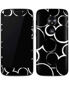 Mickey Mouse Silhouette Moto E5 Play Skin
