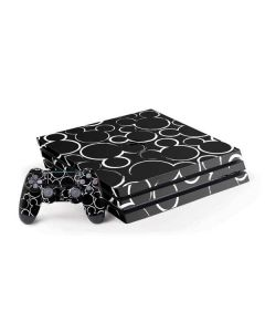 Mickey Mouse Silhouette PS4 Pro Bundle Skin