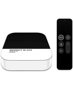 Midnight Black Apple TV Skin