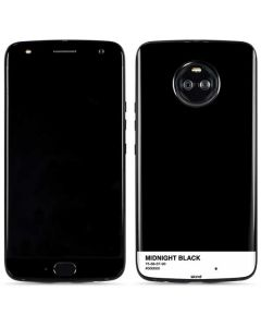 Midnight Black Moto X4 Skin