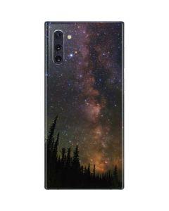 Milky Way Starry Night Galaxy Note 10 Skin