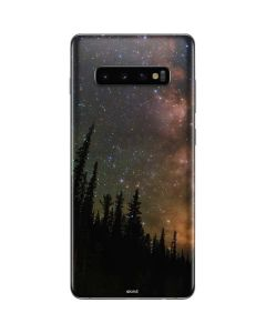 Milky Way Starry Night Galaxy S10 Plus Skin