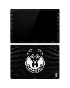 Milwaukee Bucks Animal Print Black Google Pixel Slate Skin