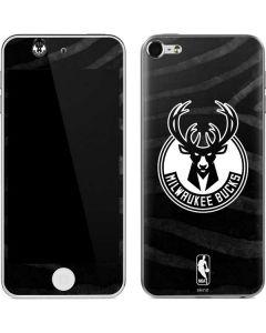 Milwaukee Bucks Animal Print Black Apple iPod Skin