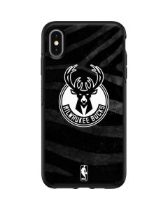 Milwaukee Bucks Animal Print Black Otterbox Symmetry iPhone Skin