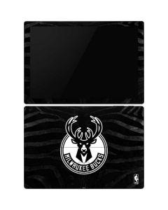 Milwaukee Bucks Animal Print Black Surface Pro 6 Skin