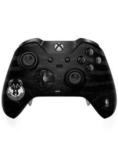 Milwaukee Bucks Animal Print Black Xbox One Elite Controller Skin
