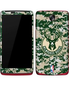 Milwaukee Bucks Camo Digi Motorola Droid Skin