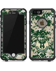 Milwaukee Bucks Camo Digi iPhone 6/6s Waterproof Case