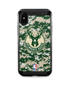 Milwaukee Bucks Camo Digi iPhone XS Cargo Case
