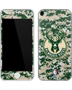 Milwaukee Bucks Camo Digi Apple iPod Skin