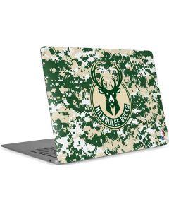 Milwaukee Bucks Camo Digi Apple MacBook Air Skin