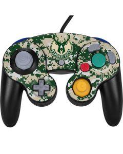 Milwaukee Bucks Camo Digi Nintendo GameCube Controller Skin