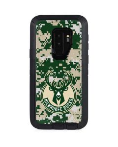 Milwaukee Bucks Camo Digi Otterbox Defender Galaxy Skin