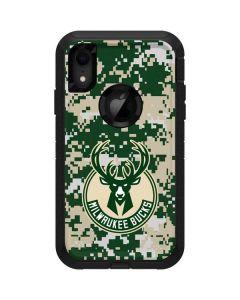 Milwaukee Bucks Camo Digi Otterbox Defender iPhone Skin