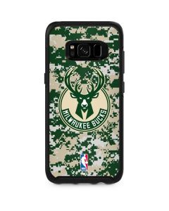 Milwaukee Bucks Camo Digi Otterbox Symmetry Galaxy Skin