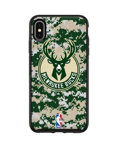 Milwaukee Bucks Camo Digi Otterbox Symmetry iPhone Skin