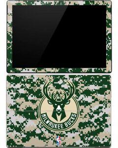 Milwaukee Bucks Camo Digi Surface Pro 4 Skin
