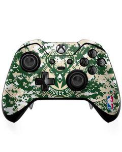 Milwaukee Bucks Camo Digi Xbox One Elite Controller Skin
