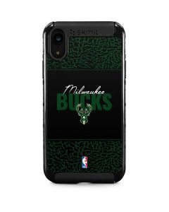 Milwaukee Bucks Elephant Print iPhone XR Cargo Case