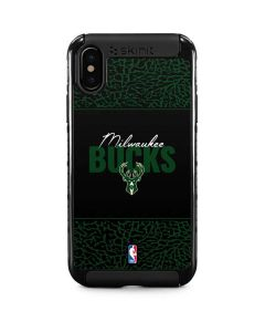 Milwaukee Bucks Elephant Print iPhone XS Cargo Case