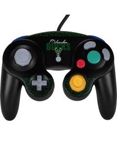 Milwaukee Bucks Elephant Print Nintendo GameCube Controller Skin
