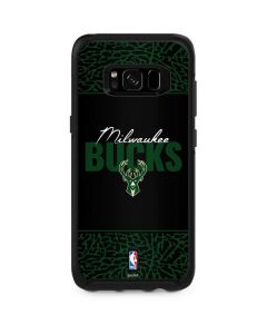 Milwaukee Bucks Elephant Print Otterbox Symmetry Galaxy Skin