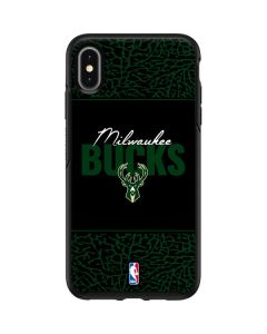 Milwaukee Bucks Elephant Print Otterbox Symmetry iPhone Skin