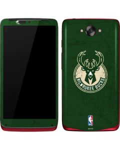 Milwaukee Bucks Green Distressed Motorola Droid Skin