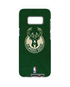 Milwaukee Bucks Green Distressed Galaxy S8 Pro Case