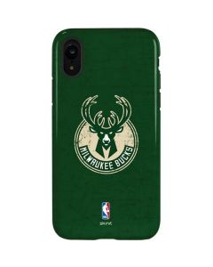 Milwaukee Bucks Green Distressed iPhone XR Pro Case