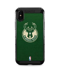 Milwaukee Bucks Green Distressed iPhone XS Cargo Case