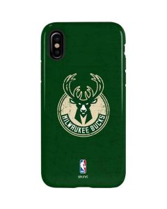 Milwaukee Bucks Green Distressed iPhone XS Max Pro Case
