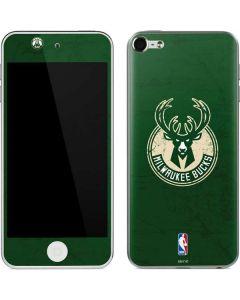 Milwaukee Bucks Green Distressed Apple iPod Skin