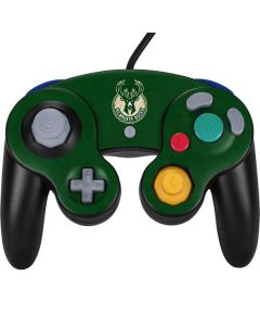 Milwaukee Bucks Green Distressed Nintendo GameCube Controller Skin