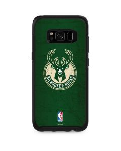 Milwaukee Bucks Green Distressed Otterbox Symmetry Galaxy Skin