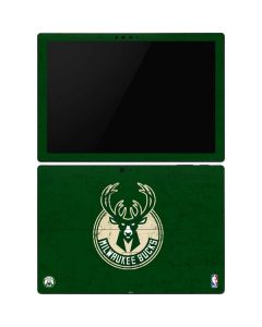 Milwaukee Bucks Green Distressed Surface Pro 6 Skin