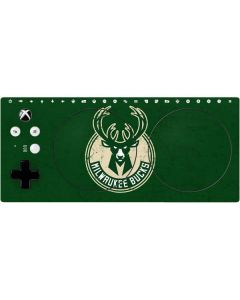 Milwaukee Bucks Green Distressed Xbox Adaptive Controller Skin