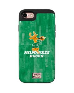Milwaukee Bucks Hardwood Classics iPhone 8 Wallet Case