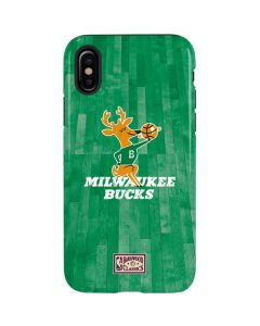 Milwaukee Bucks Hardwood Classics iPhone X Pro Case