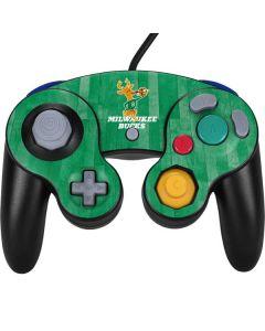 Milwaukee Bucks Hardwood Classics Nintendo GameCube Controller Skin