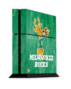 Milwaukee Bucks Hardwood Classics PS4 Console Skin