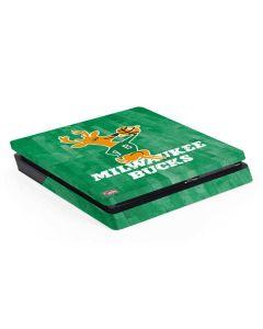 Milwaukee Bucks Hardwood Classics PS4 Slim Skin